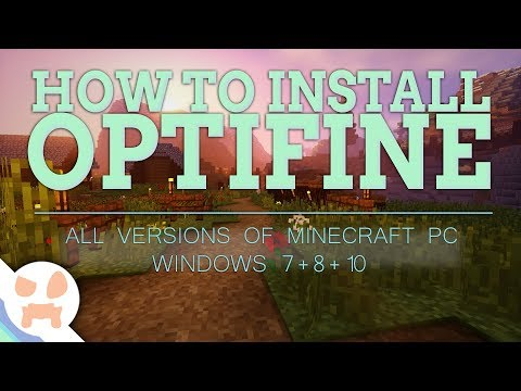 How to Download & Install Optifine! 1.12.2   All Versions, Windows