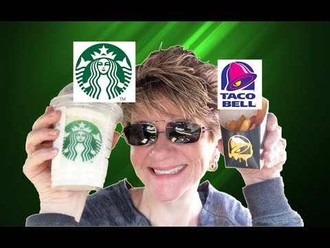 YUMMY OR NOT # 17 - STARBUCKS AND TACO BELL
