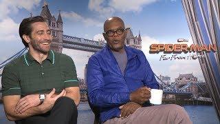 Download Interviewing Samuel L Jackson, Jake Gyllenhaal & John Watts | Comics Explained Video