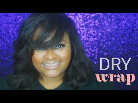 Dry Wrap on Natural Hair