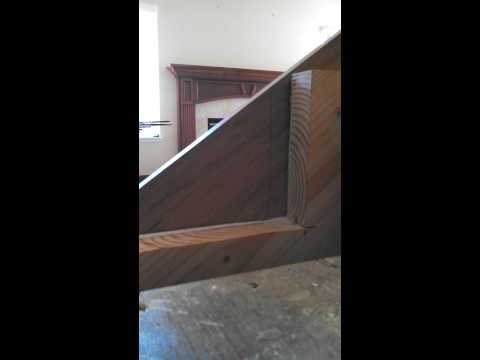 Mitering stair skirt boards part 2