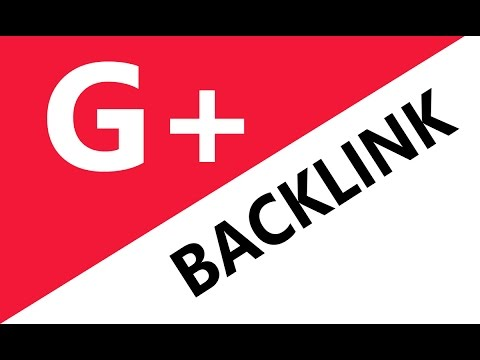 How To Get Backlink From Google Plus For Website And Youtube Video (Ranking)