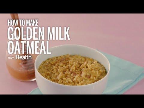 How to Make Golden Milk Oatmeal   Health