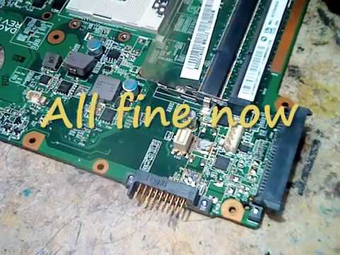 How to fix Toshiba L745 Dead Motherboard