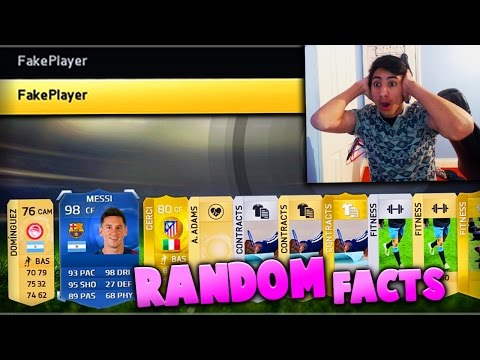 FIFA 15 | TEAM OF THE YEAR MESSI | FAKE Player Glitch! - (Fifa 15 Top 5 Random Facts)