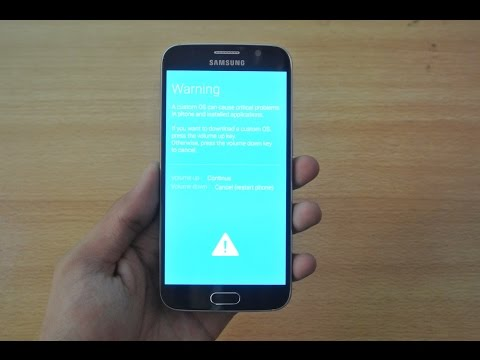Samsung Galaxy S6 - How To Enter Download Mode