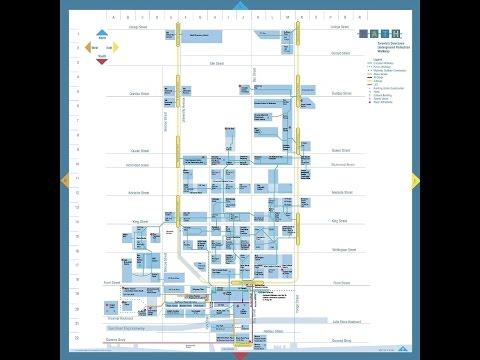World's largest Toronto PATH 30 KM Underground; Walk Queens Quay To Bus Term underground 30 Minute