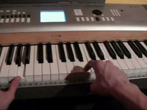 How to play Fall For You by Secondhand Serenade on Piano Part 1 - Tutorial