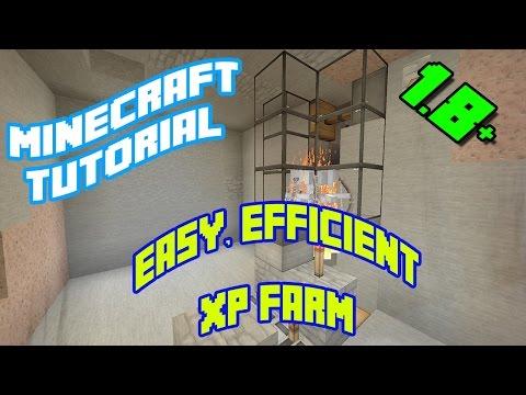 Minecraft Tutorials: Easy, Efficient Skeleton / Zombie XP Farm (1.8, 1.9, 1.10, 1.11, 1.12)