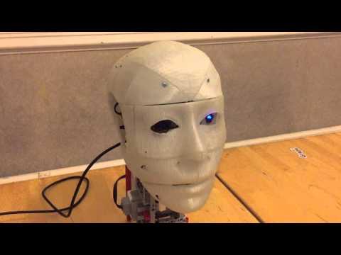 LEGO MINDSTORMS 3D Printed Humanoid Robotic Head