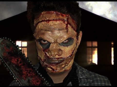 Leatherface - The Texas Chainsaw Massacre - Makeup Tutorial!