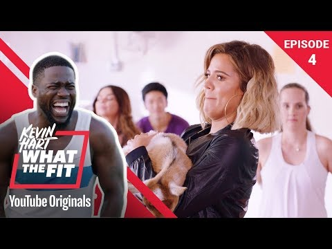 Goat Yoga with Khloé Kardashian | Kevin Hart: What The Fit Episode 4 | Laugh Out Loud Network
