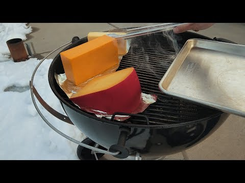 How to Cold Smoke Cheese on the Weber Kettle