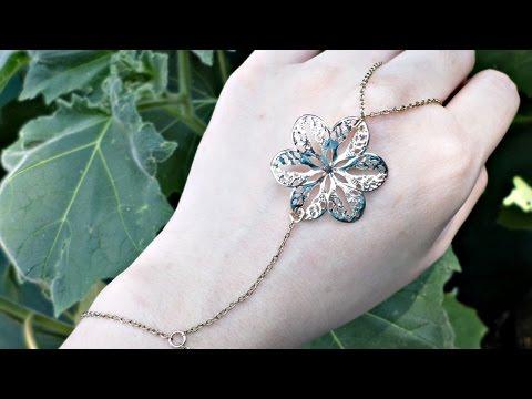 Make a Repurposed Necklace Slave Bracelet - DIY Style - Guidecentral