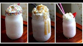 3 Easy Milkshake Recipes How To Make Milkshakes With The Squishy Mons