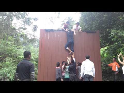 12 feet wall climb - Team A