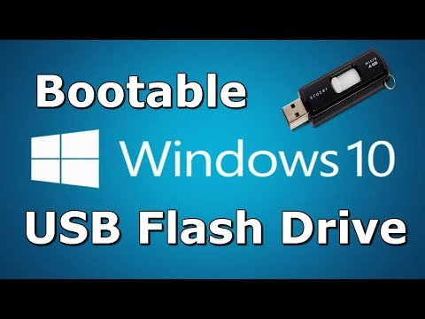 How to Install Windows 10 from a Bootable Pendrive 2017