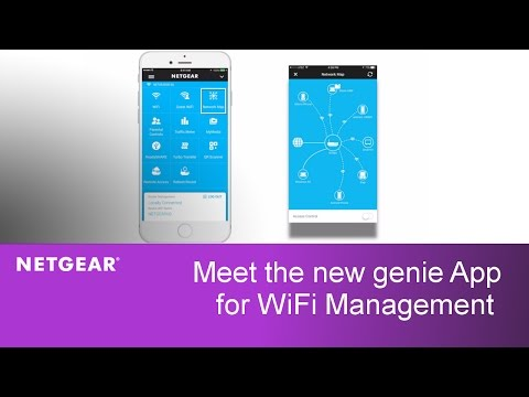 Meet the NETGEAR genie WiFi Network Management App!
