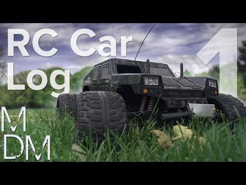 Nitro Engine RC Car Build Log - Part 1 (Tamiya Wild Commando)