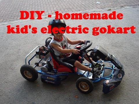 Electric go kart - homemade DIY  as build part 1