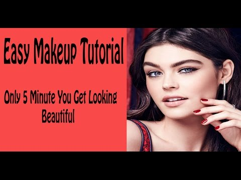 Easy Makeup Tutorial | Eye Makeup Brushes