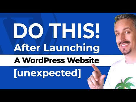 10+ Things To Do AFTER LAUNCHING A WordPress Site