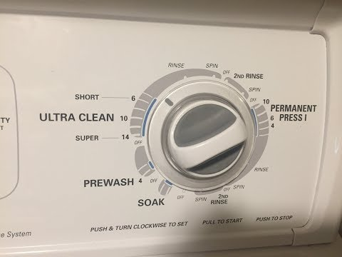 Kenmore Maytag Whirlpool Washer not draining or spinning 1c solution Lid switch diagnostic &repair