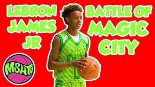LeBron James Jr PUTS ON A SHOW at the 2018 Battle of Magic City