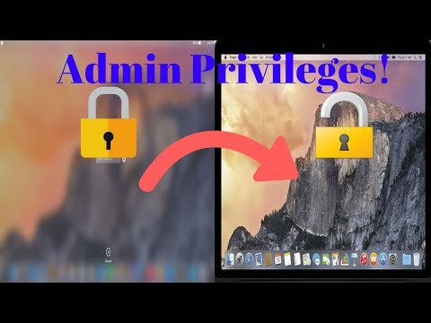 How to gain ADMIN Privileges on any Mac