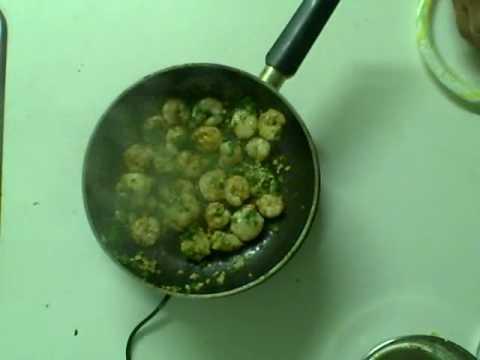 Fiesta Shrimp - Garlic Cilantro Lime Shrimp