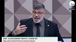 Depoimento do deputado Alexandre Frota na CPMI das Fakes News