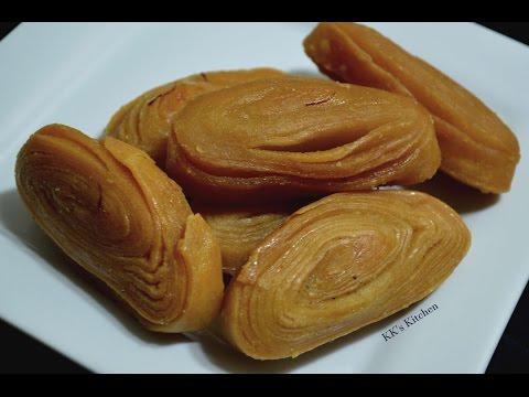 Madatha Kaja I Khaja Recipe | Chirote  | Indian Sweet Recipe