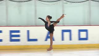 Alysa Liu, Senior Ladies Free Skate, 2018 CCIA Competition