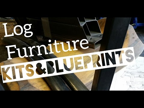 Log Furniture How-to Kits and Blueprints