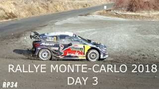 Rallye Monte Carlo 2018 day3 Es10 12 show glisse