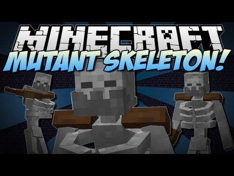 Minecraft | MUTANT SKELETON! (NEW Addition to Mutant Creatures!) | Mod Showcase [1.6.2]