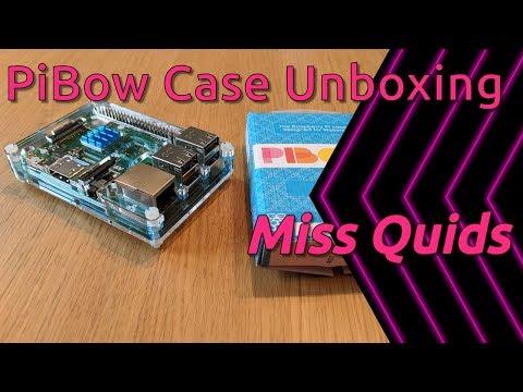 Unboxing Pimoroni Pibow Coupé Raspberry Pi Case