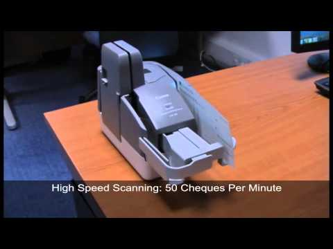 Canon CR-50 Cheque Scanner