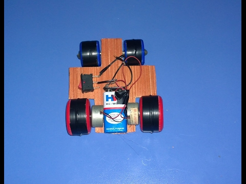 How to Make a Super Fast Car Driven by 2 DC Motor