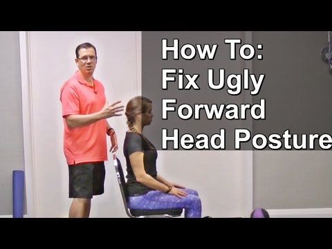 Forward Head Posture Exercises - Where To Find 10 Simple Forward Neck Posture Exercises In Video #1