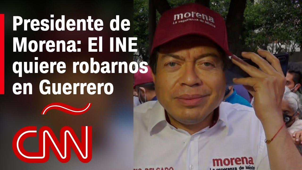 Habrá resistencia civil si cancelan la candidatura de Félix Salgado, según presidente de Morena