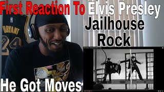 First Reaction To Elvis Presley - Jailhouse Rock (Music Video)