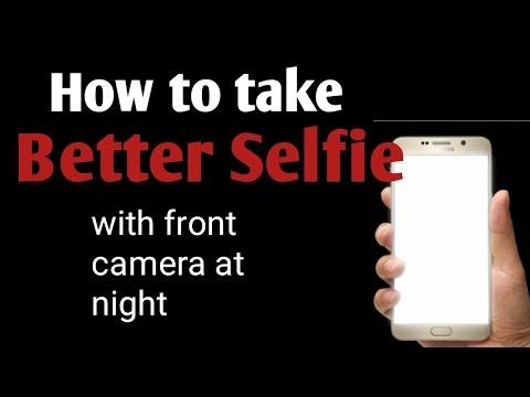 अगर आपके front camera में flash नहीं है तब भी अँधेरे में front कैमरा से एक दम साफ  फोटो लेना सीखो