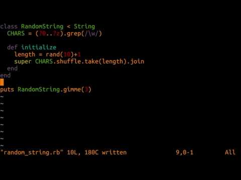 daily bits - Generating an Array of Random Strings in Ruby