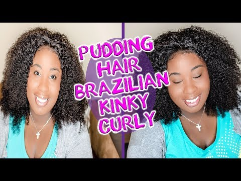 Puddinghair Brazilian Kinky Curly Hair Review