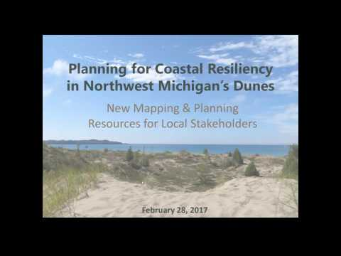 Planning for Coastal Resiliency in Northwest Michigan's Dunes