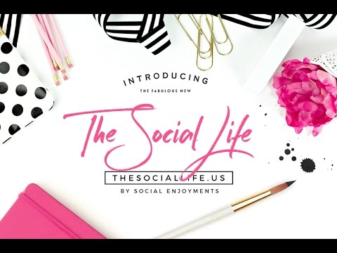 The Social Life Launch Video
