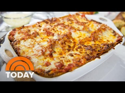 Al Roker's Original Vegetarian Lasagna Recipe: It's So Good! | TODAY