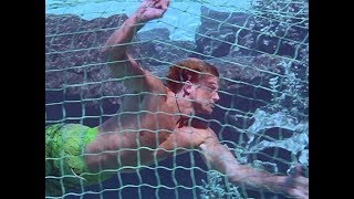 Merman Barnaby escaping