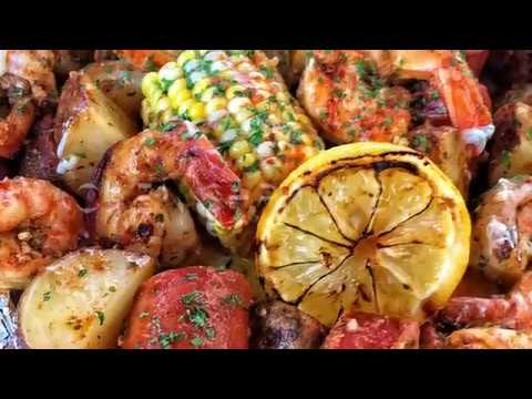 Easy Oven SHRIMP BOIL!